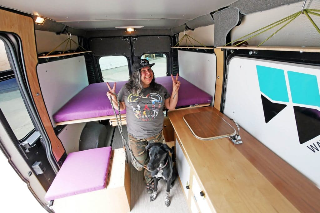 Living in a van full time as a digital nomad