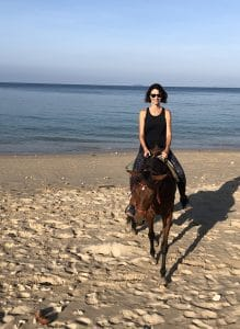 digital nomad community horseriding